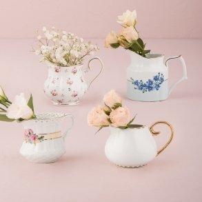 Vintage Creamer Assortment Favour Vase Set