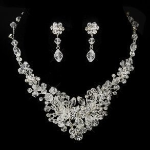 Austrian Crystal Bridal Jewellery Set