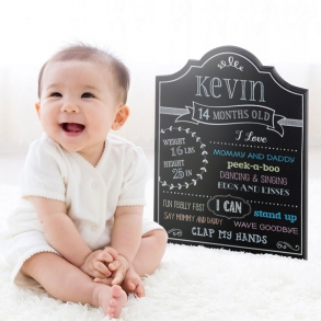 Baby Monthly Milestone Chalkboard Photo Prop