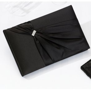 Black Sash Wedding Guest Book