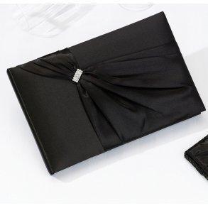Black Sash Wedding Guest Book