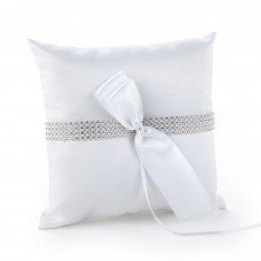 Bling Wedding Ring Pillow