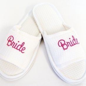 Bridal Party Spa Slippers