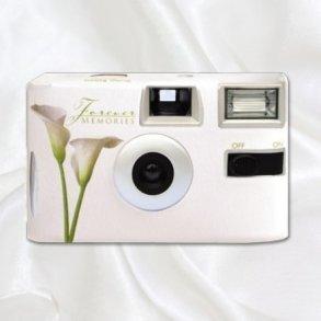Calla Lily Disposable Wedding Camera