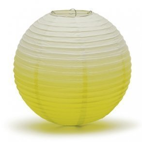 Candy Apple Green Ombre Hanging Paper Lantern