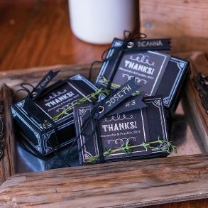 Chalkboard Chic Favour Box Kit
