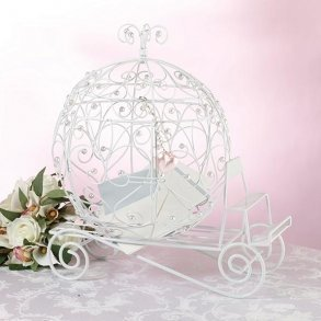 Cinderella Fairytale Carriage Wedding Card Box