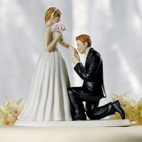 A Cinderella Moment Cake Topper