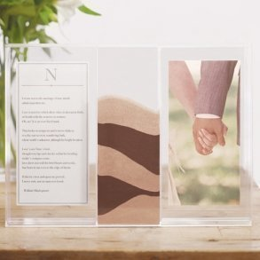 Clearly Love Sand Ceremony Shadow Box