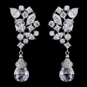 Dazzling Cubic Zirconia Earrings