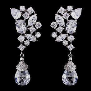 Dazzling Cubic Zirconia Earrings