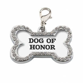 Dog Of Honor Wedding Collar Charm