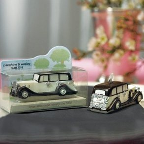 An Elegant Ride - Wedding Car Mini Candle