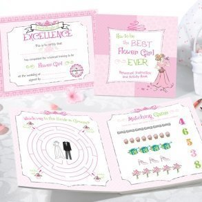 Flower Girl Activity Book
