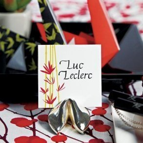 Fortune Cookie Place Card Holders
