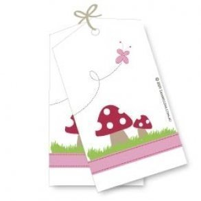 Garden Party Gift Tags - Pack of 12
