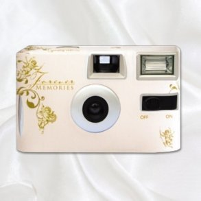 Gold Cherub Disposable Wedding Camera