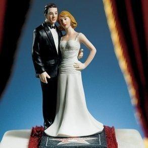 Hollywood Glamour Cake Topper