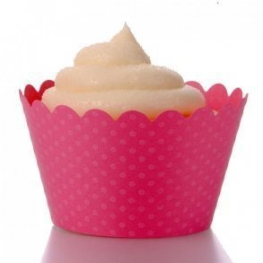 Hollywood Pink Cupcake Wrappers - Pack of 12
