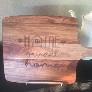 Home Sweet Home Timber Chopping Board