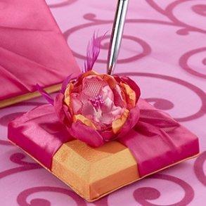 Hot Pink & Orange Pen Set