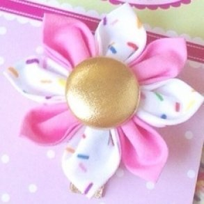 Sweet Ice Cream Sprinkles Girls Hair Clip