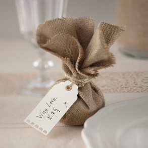 Ivory Luggage Favour or Bomboniere Tags