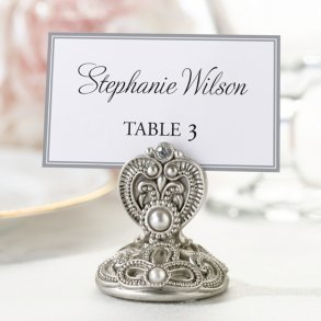 Jewelled Place Card Holders - Pack of 4