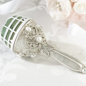 Jewelled Wedding Bouquet Holder