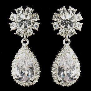 Kim Kardashian Inspired Bridal Earrings