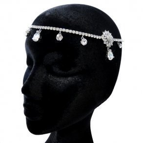 Kim Kardashian Inspired Bridal Headpiece Design 2