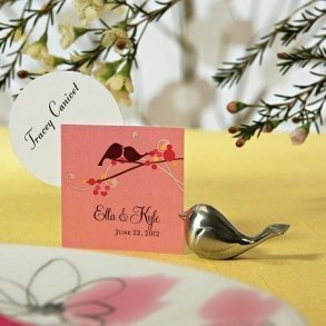 Love Bird Place Card Holders