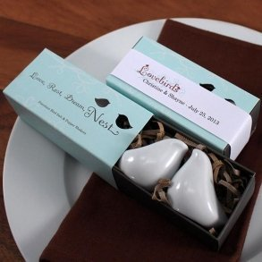 Love Bird Salt & Pepper Shakers