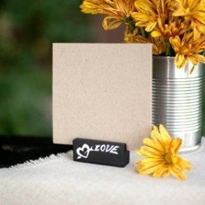 Love Chalk Place Card Holder