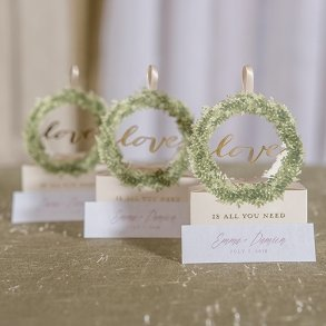 Love Is All You Need Wedding Favour Boxes
