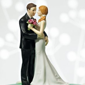 Cheeky Couple 'My Main Squeeze' Cake Topper