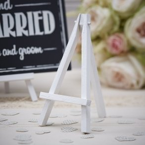 Mini White Wooden Easels