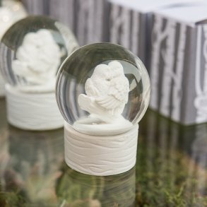 Miniature Love Bird Snowglobes