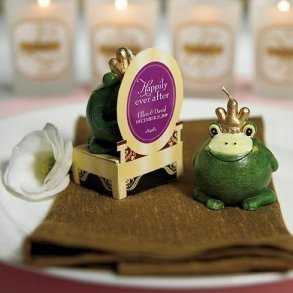 Novelty Frog Prince Candle