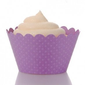 Orchid Purple Cupcake Wrappers