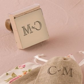 Personalised Monogram Rubber Stamp