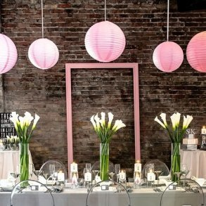 Coloured Round Paper Lanterns