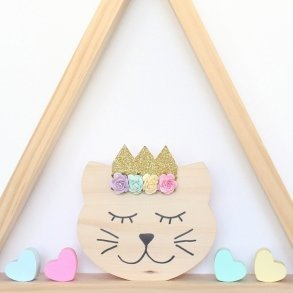 Princess Catarina Kids Wooden Room Decor