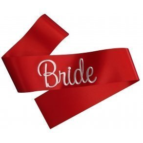 Hens Party Sash With Embroidered Text