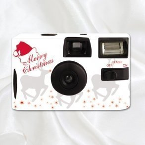 Christmas Reindeer Disposable Camera