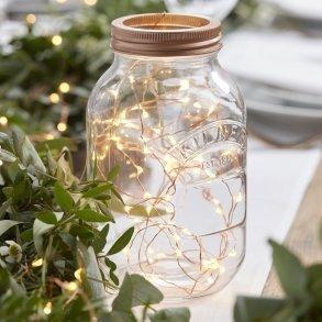 Rose Gold LED String Fairy Lights