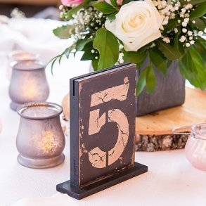 Rustic Self Standing Table Numbers