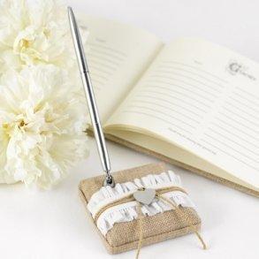 Rustic Romance Wedding Pen