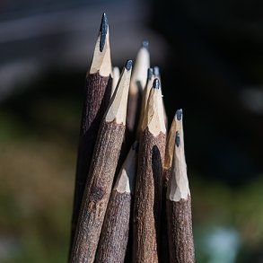 Rustic Wood Pencils