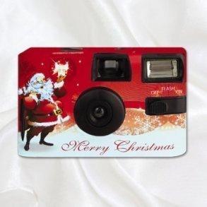 Christmas Santa Disposable Camera